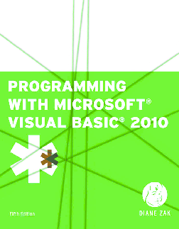 PDF) Programming with Microsoft Visual Basic | Antriksh
