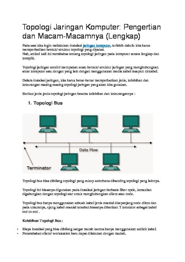 Pdf topologi jaringan