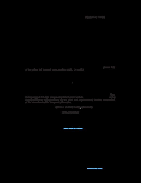 PDF) Impact of Splenectomy and Chelating Agents on Serum