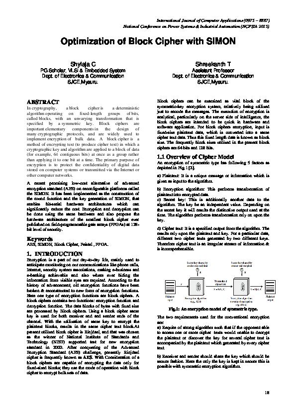 Block cipher vs stream cipher pdf