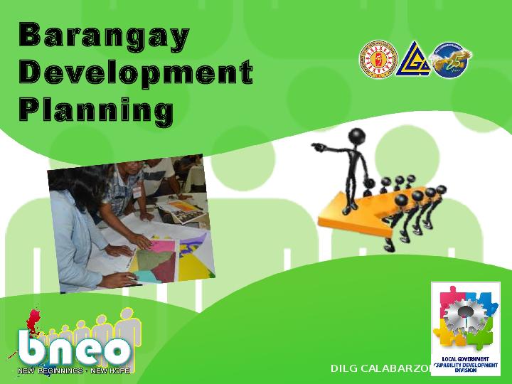 PPT) Barangay Development Planning | Xerxes Batralo