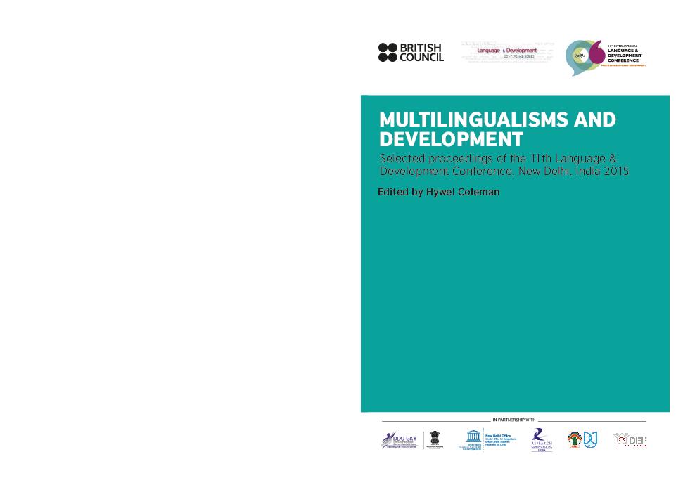 PDF) MULTILINGUALISMS AND DEVELOPMENT   Hywel Coleman