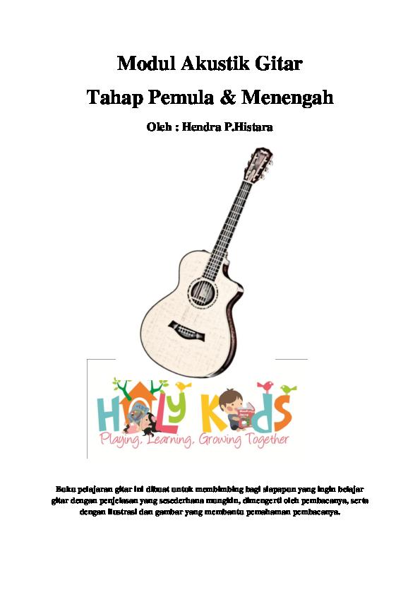 Pdf Belajar Gitar Akustik