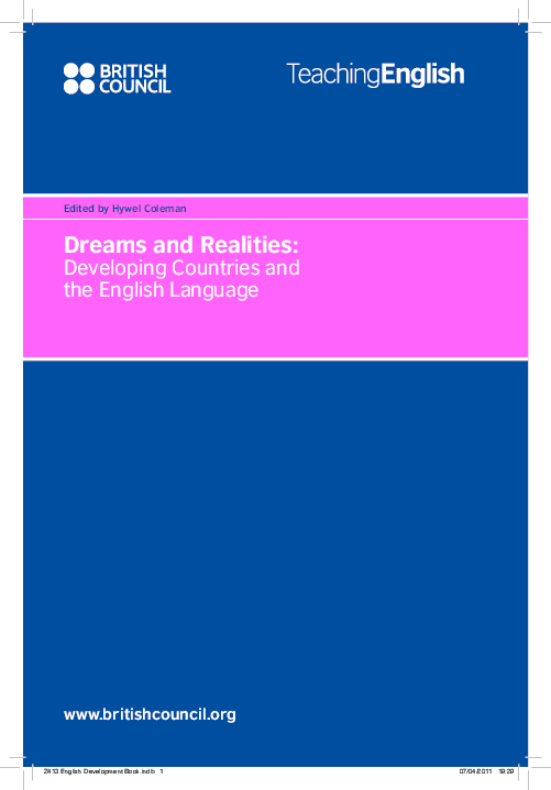 PDF) Dreams and Realities | Hywel Coleman - Academia edu
