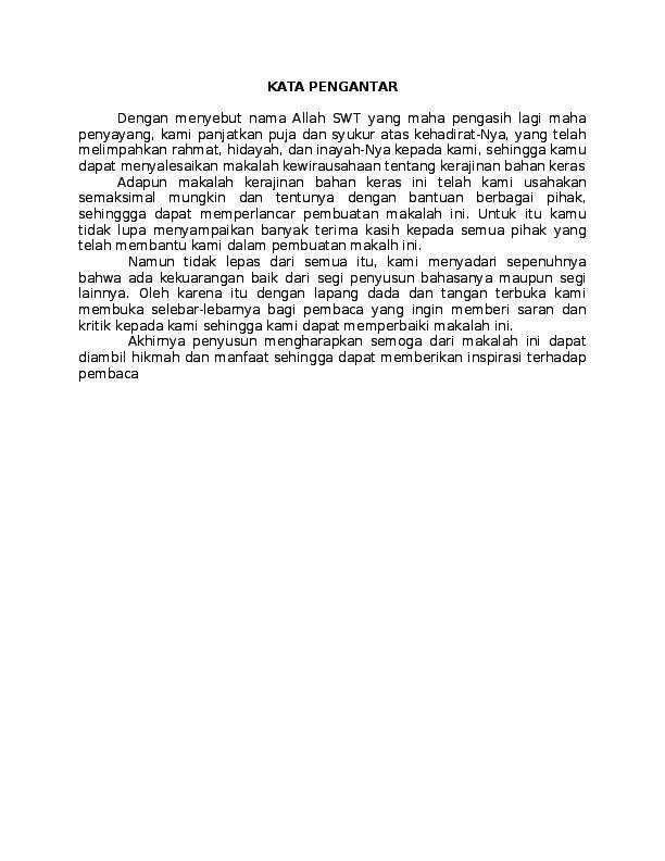 Doc Makalah Prakarya Aditya Rizky Academia Edu