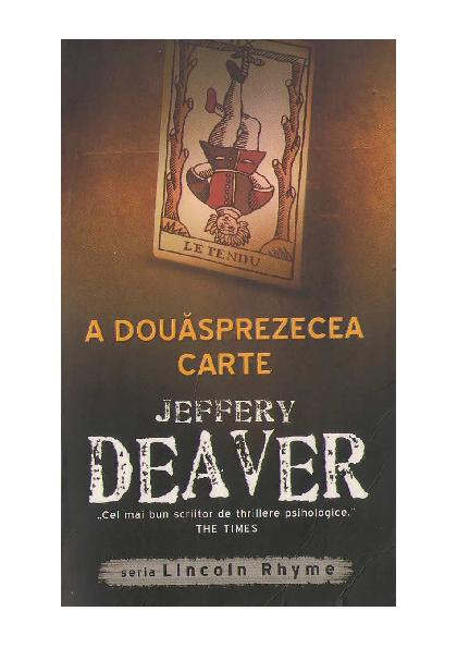 PDF) Jeffery-Deaver-A-Douasprezecea-Carte.pdf | Deea Andreea ...