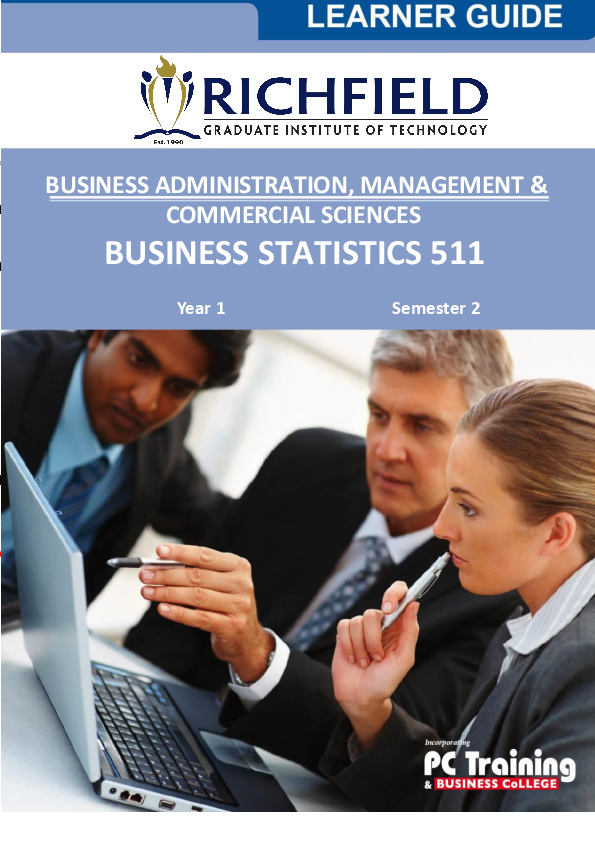 Applied Business Statistics By Trevor Wegner Download