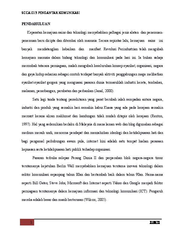 Doc Kepesatan Teknologi Docx Peter Ah Bong Academia Edu