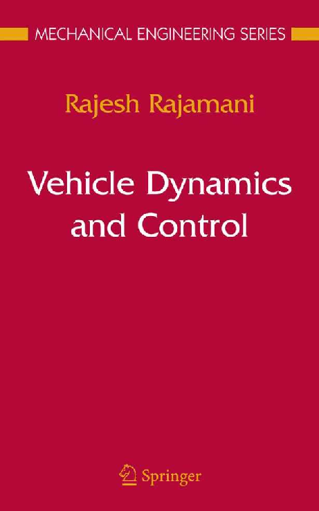 vehicle dynamics and control by rajesh rajamani pdf free download