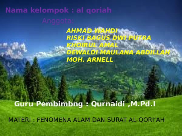 Feomene Alampptx Ahmad Wahdi Academiaedu