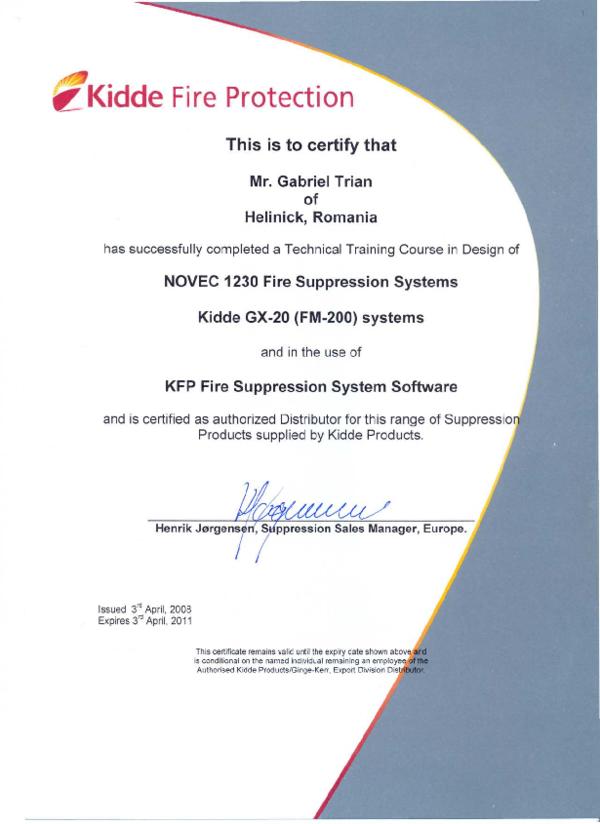 PDF) it: Kidde Fire Protection | Gabriel Traian - Academia edu