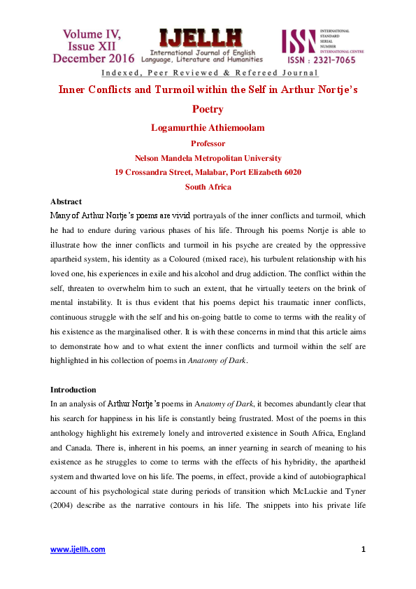 PDF) IJELLH (International journal of English language