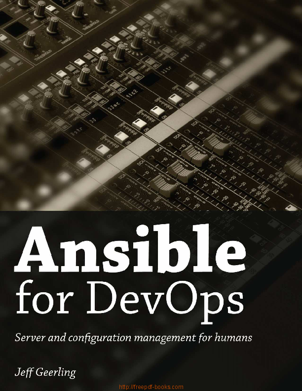 PDF) Ansible for DevOps | Afaq Babar - Academia edu