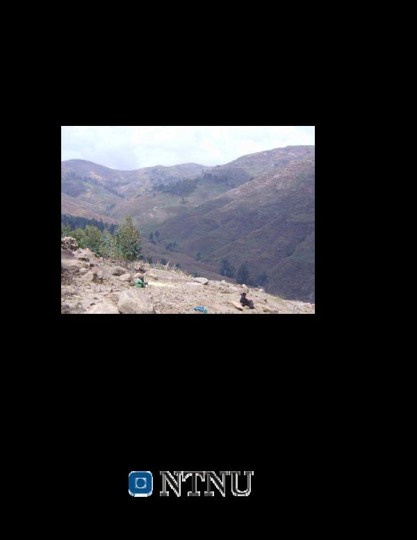 PDF) THE PERSISTENT FOOD CRISIS IN ETHIOPIA: CAUSES