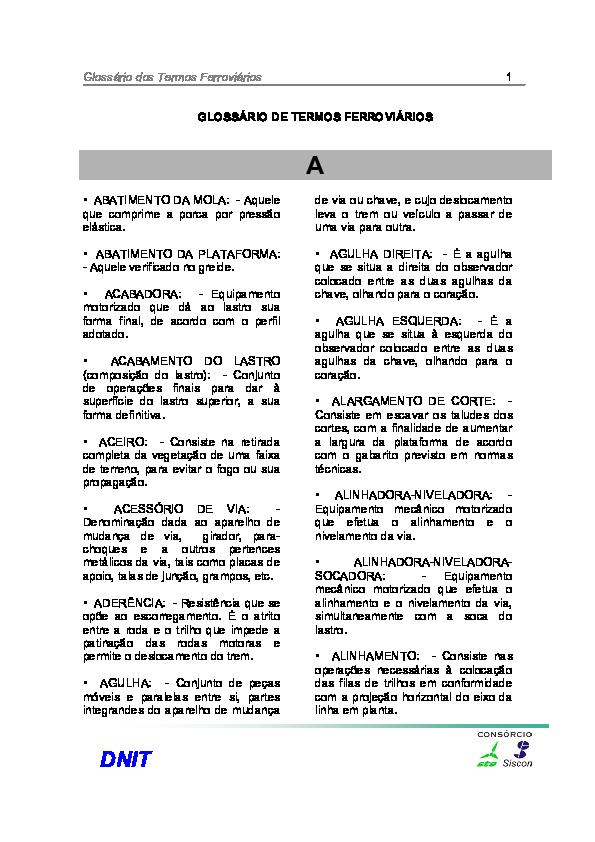 760e1bc42cc1a PDF) Glossario de termos ferroviários