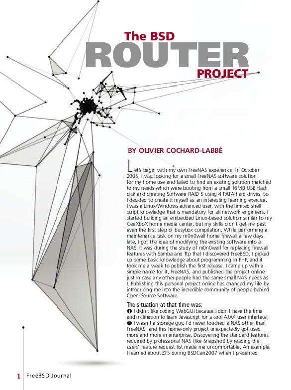 PDF) BSDRP (FreeBSD Journal - Nov-Dec 2015) | Olivier