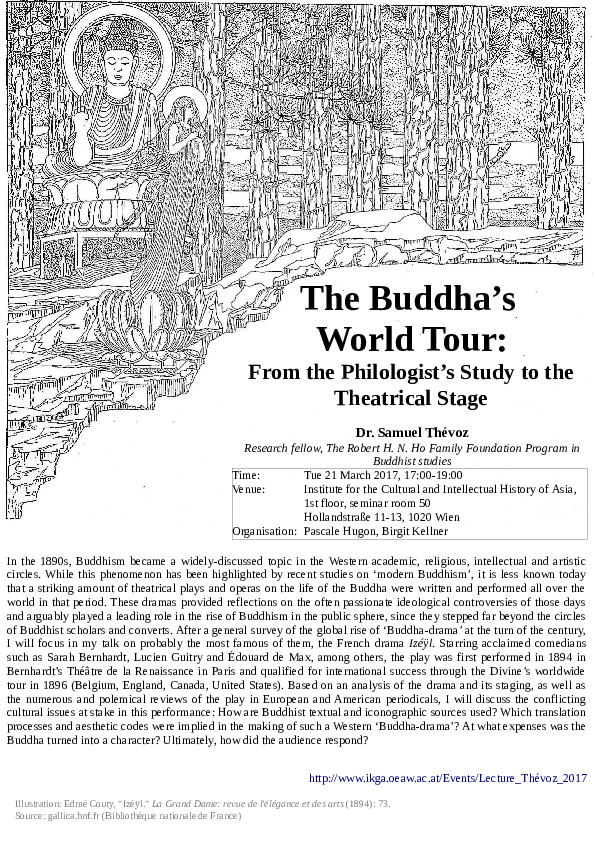 Pdf The Buddha S World Tour From The Philologist S Study To The Theatrical Stage Samuel Thevoz Academia Edu