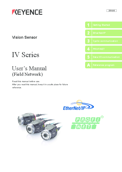 PDF) User's Manual (Field Network) IV Series 1 Getting Started 4