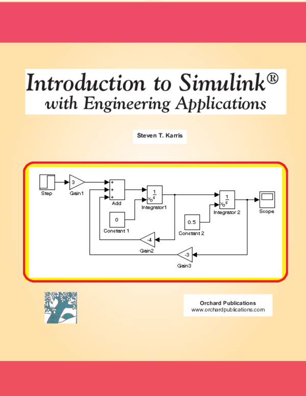 PDF) Introduction to Simulink® with Engineering Applications