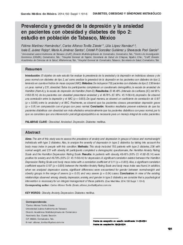genómica diabetes tipo 2 y obesidad pdf