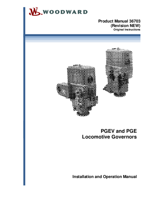(PDF) Product Manual 36703 (Revision NEW) Original