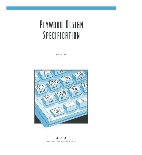 PDF) Plywood Design Specification | Pak Keung Yip - Academia edu