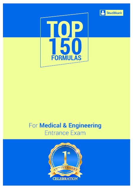 PDF) Important Formulas PDF for Physics   Mathematics- StudMonk