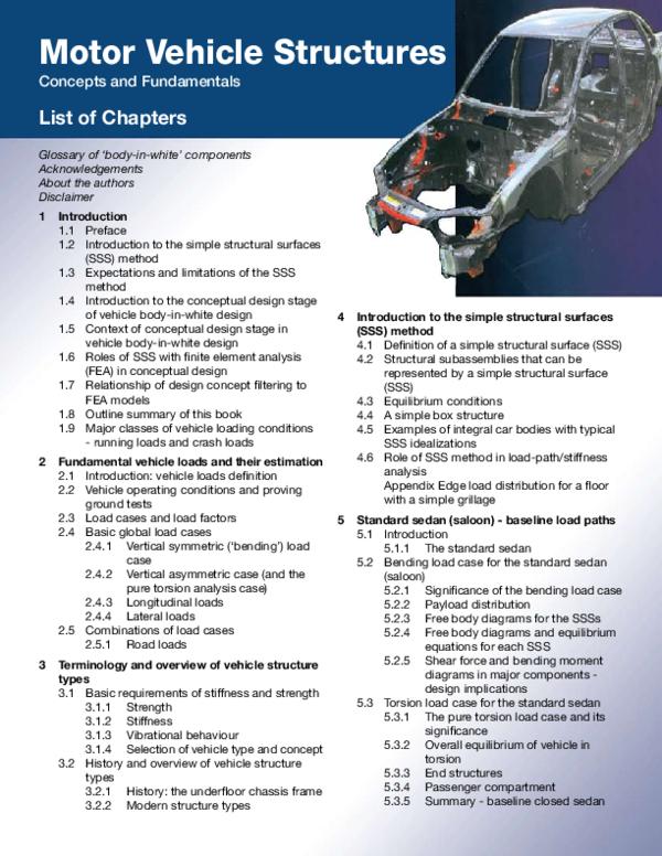PDF) BOOK SAE SSS METHOD FOR BIW CHASSIS | Leamington Spa