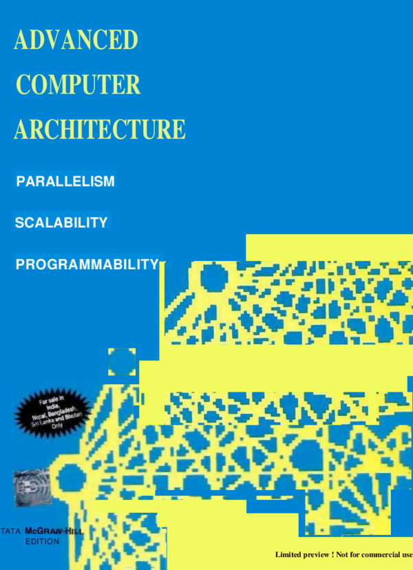 PDF) ADVANCED COMPUTER ARCHITECTURE PARALLELISM SCALABILITY