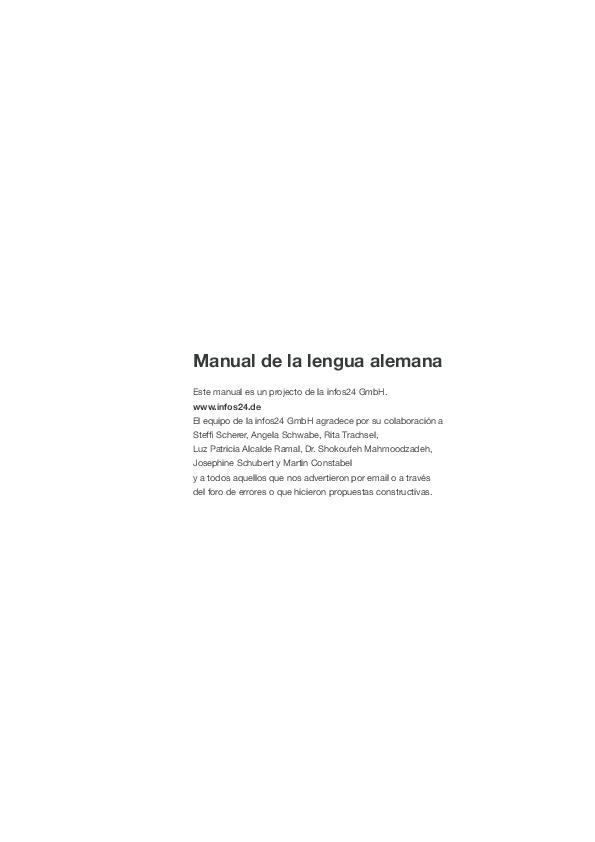 Pdf Manual De La Lengua Alemana Andrea Quiceno Academiaedu