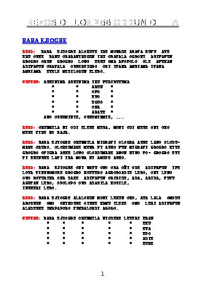 PDF) REZOS DE LOS 256 ODDUN DE IFA REZOS DE LOS 256 ODDUN DE