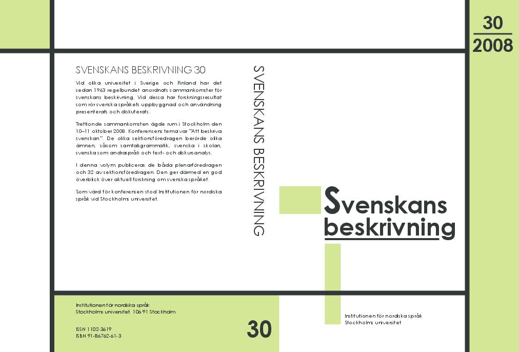 Svenskans beskrivning 30   Förhandlingar vid Trettionde ... b659c98d17966
