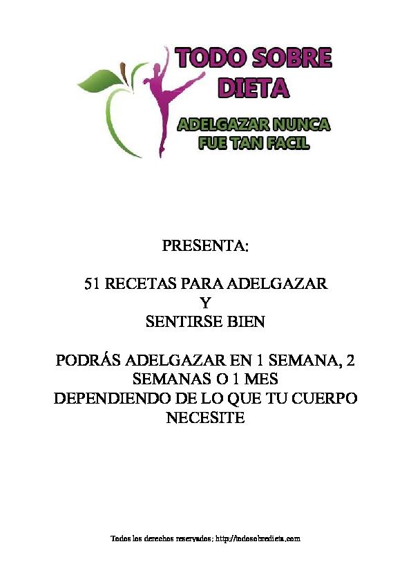 Dieta disociada 200 recetas pdf gratis