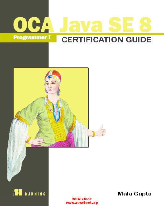 PDF) OCA Java SE 8 Programmer I Certification Guide pdf | Rishabh