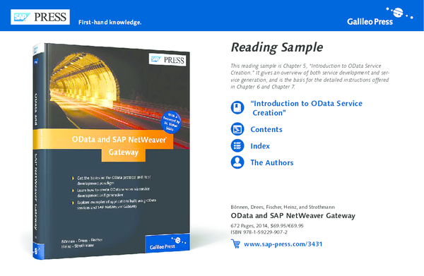 PDF) Reading Sample OData and SAP NetWeaver Gateway | Deepika SS