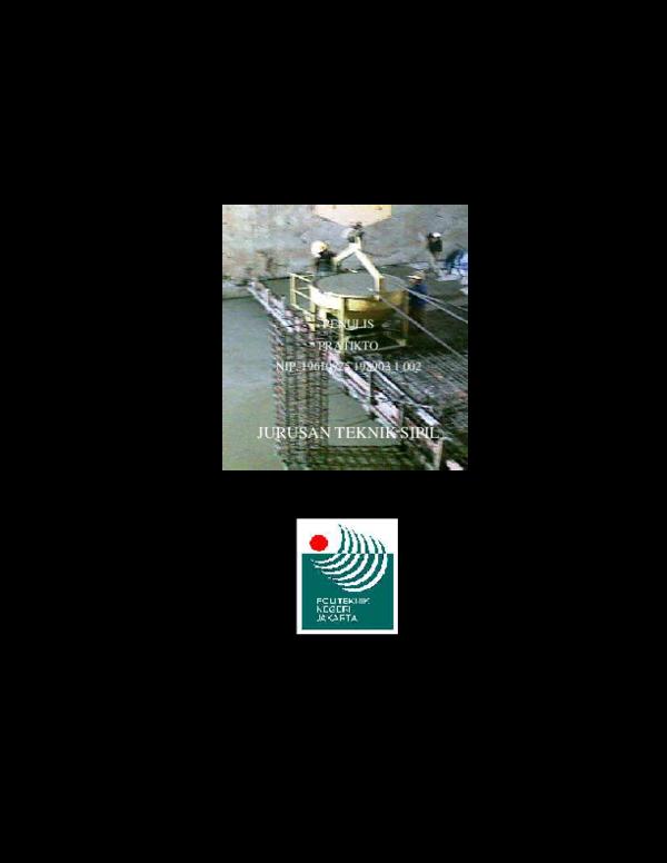 PDF) 233754178-Konstruksi-Beton-I.pdf | Pras Bowo - Academia.edu