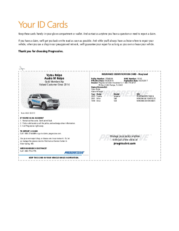 Car Insurance Policy Number On Card ~ news word