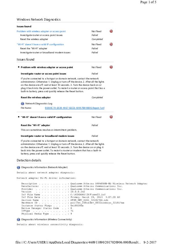 PDF) Windows Network Diagnostics | klemindedraaideur draaideur