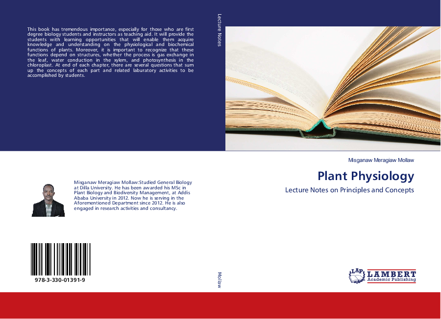 PDF) Plant Physiology: Lecture Notes on Principles and