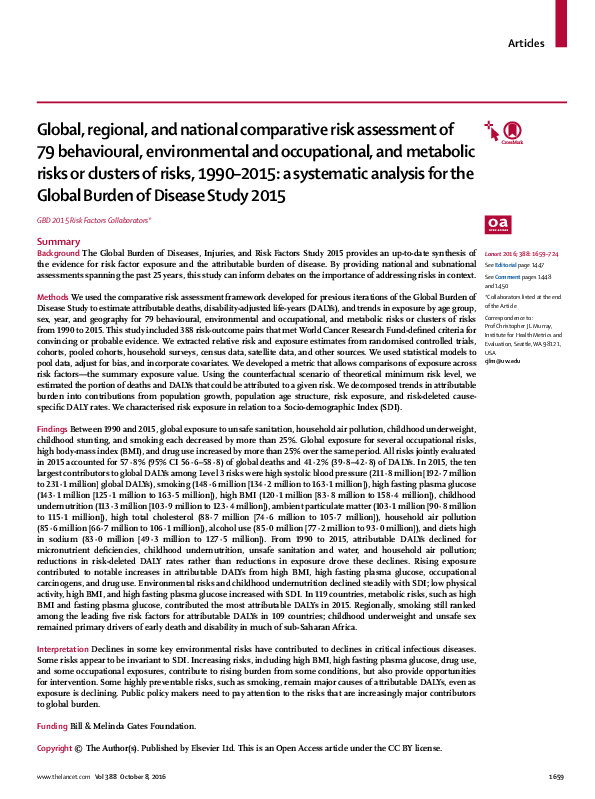 PDF) Forouzanfar et al. - 2016 - Global, regional, and national ...