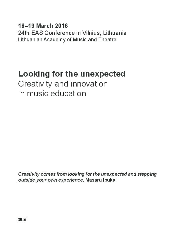 Phd Thesis Music Education