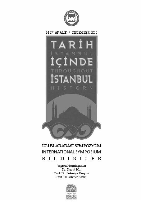 Tarih Boyunca İstanbul da Yahudi İkamet Bölgeleri  bbdcacfa3d