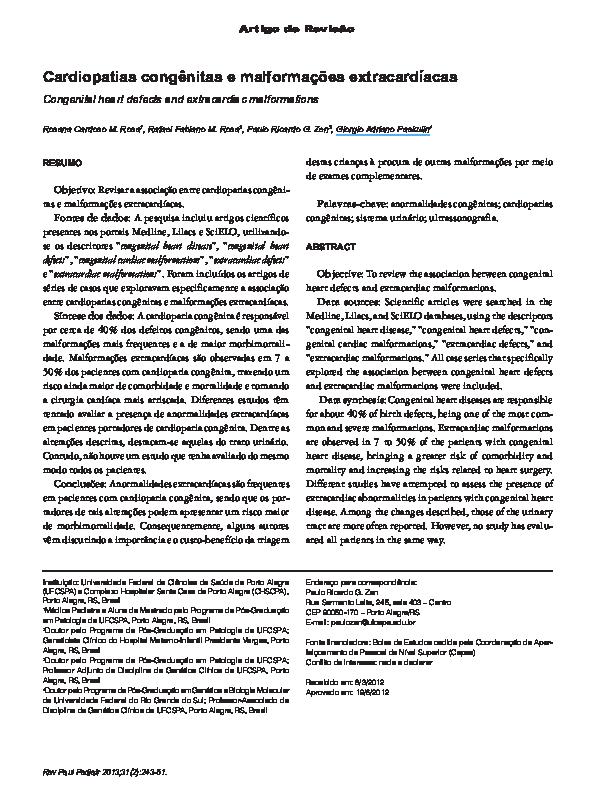 Hidrocefalia y cardiopatía congénita