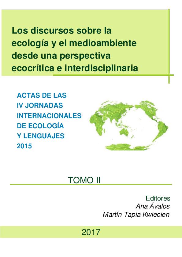 Pdf Los Discursos Sobre La Ecología Y El Medioambiente