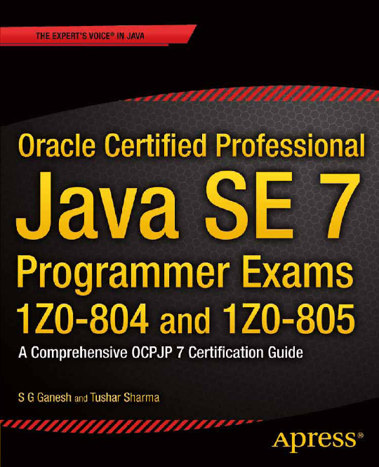 PDF) oracle java programmer exams | Hamza Oulad Ben Brahim