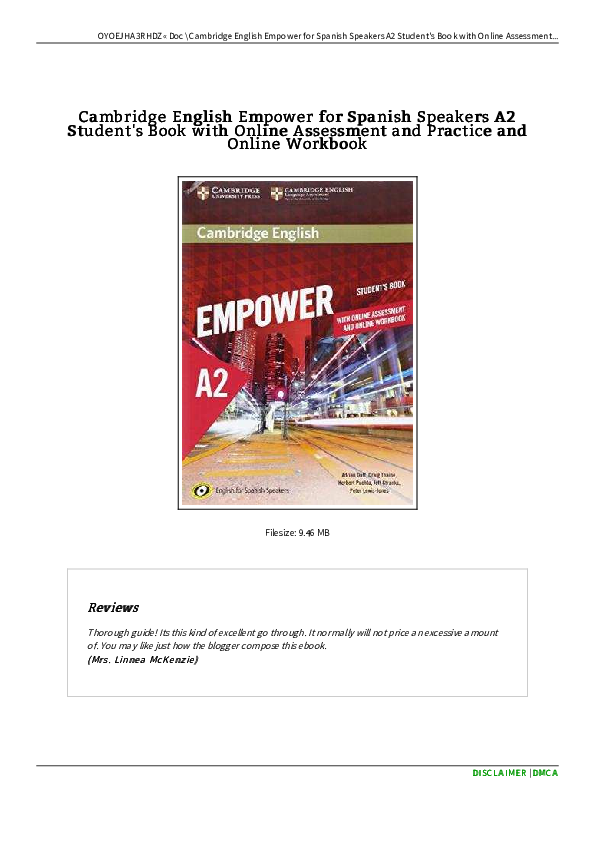 PDF) Cambridge english empower for spanish speakers a 1 (1) | Martin