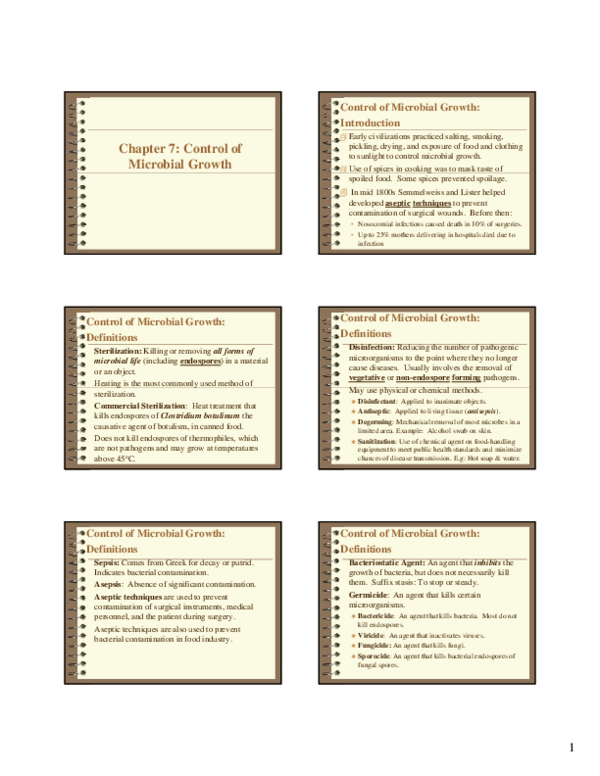 PDF) Chapter 7: Control of Microbial Growth | kepp pooo