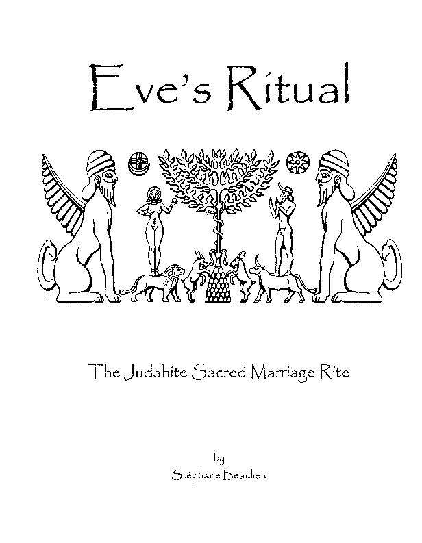 PDF) Eve's Ritual: the Judahite Sacred Marriage Rite