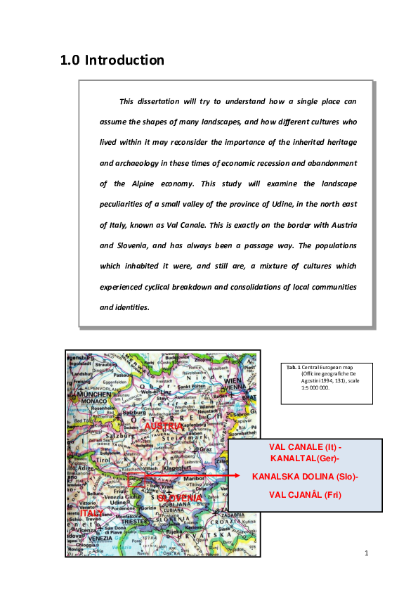 Pdf 3 The Valley Known As Val Canale A Landscape Of Convergence Of Ethnic Groups And The Perception Of Their Archaeological Heritage Dissertation Anita Pinagli 2013 Pdf Anita Pinagli Academia Edu