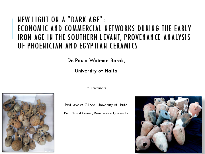 Pdf New Light On A Dark Age Economic And Commercial Networks